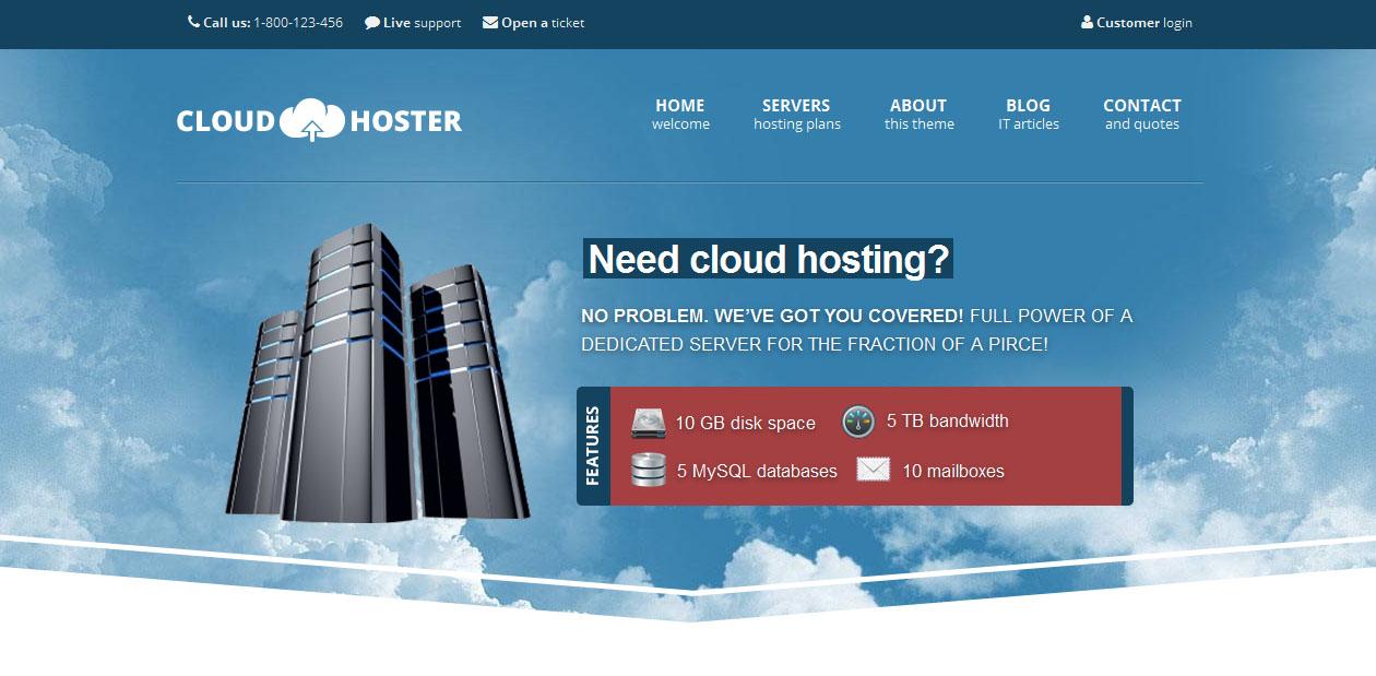 Cloud Hoster