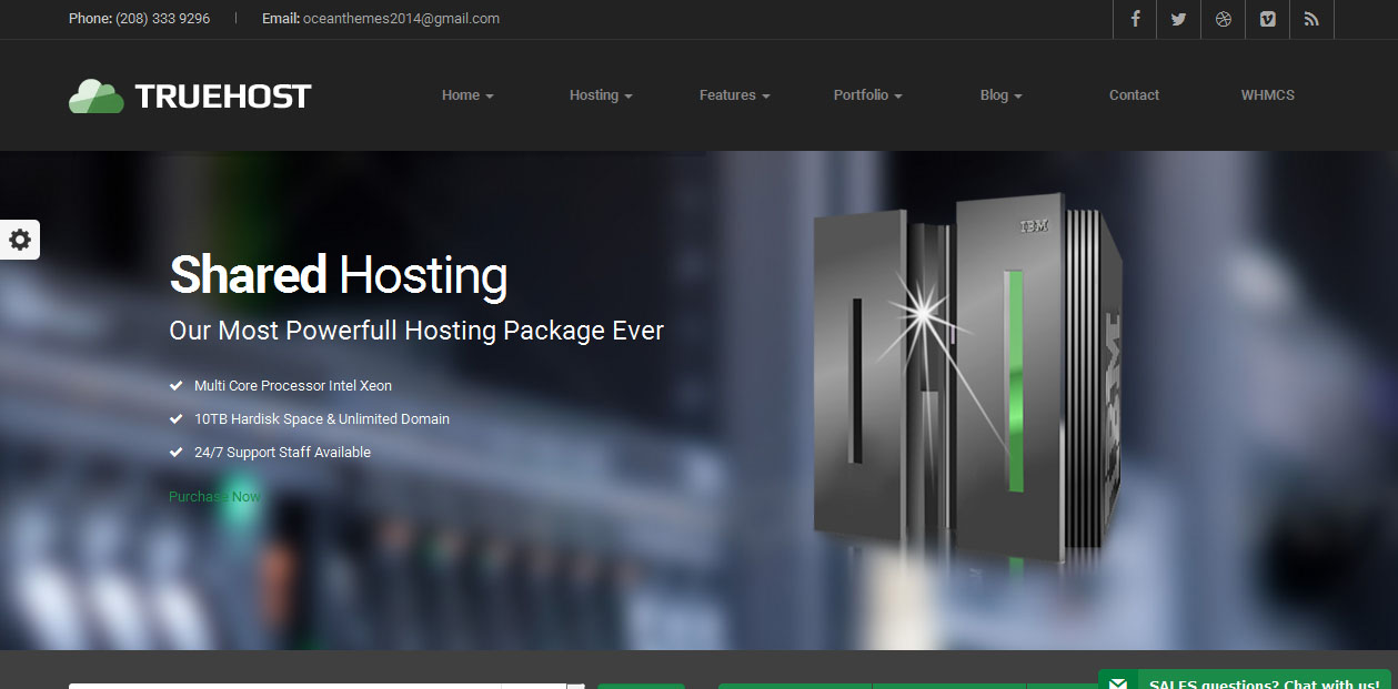Truehost - Hosting WordPress Themes