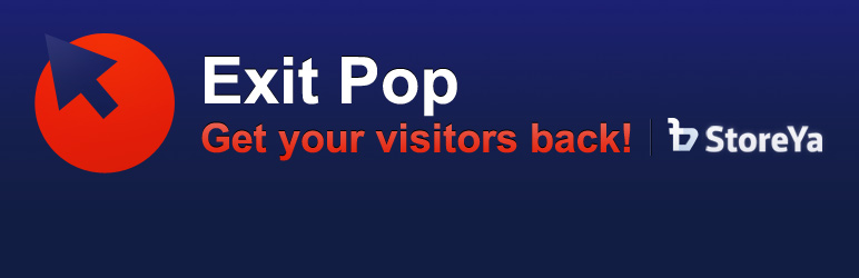 WordPress Exit Pop