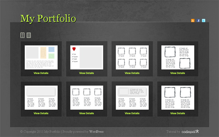 Create a Multi-Layout Portfolio with WordPress