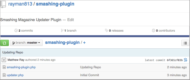 How To Deploy WordPress Plugins With GitHub Using Transients