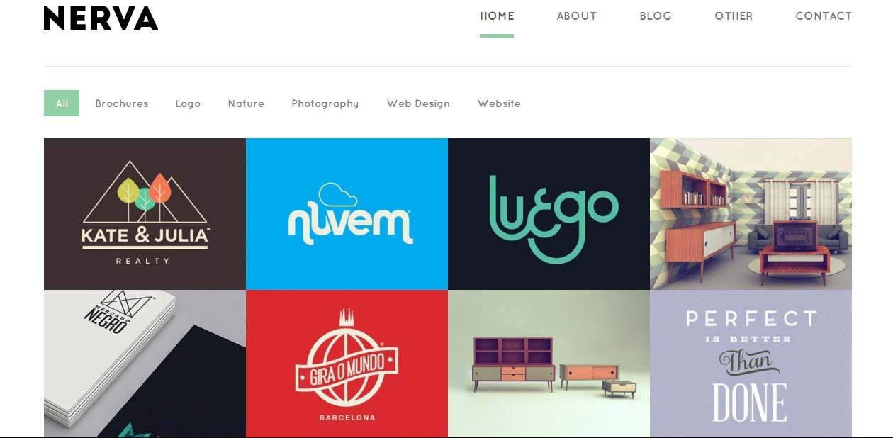 Nerva - WordPress Art Themes