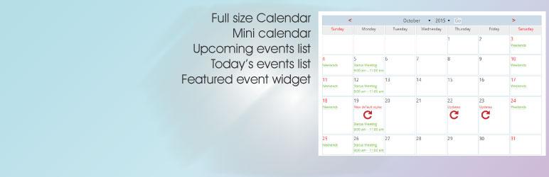 Spiffy Calendar