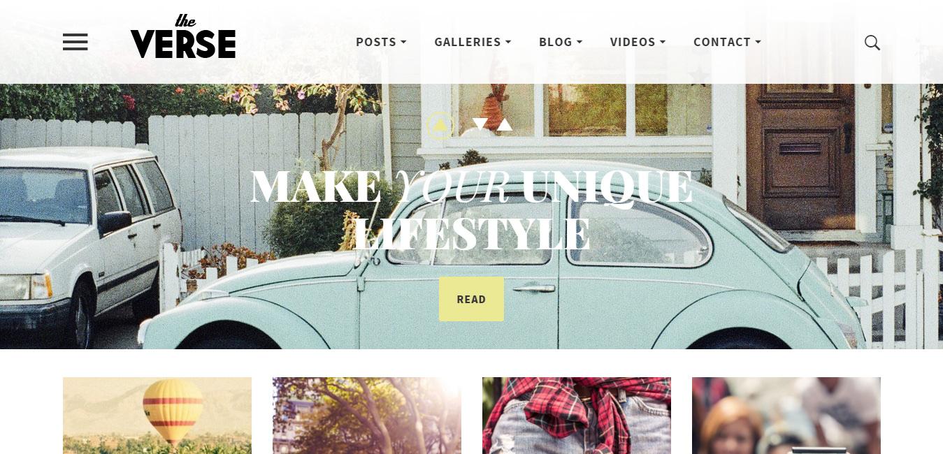 Verse - Multipurpose WordPress Magazine Theme