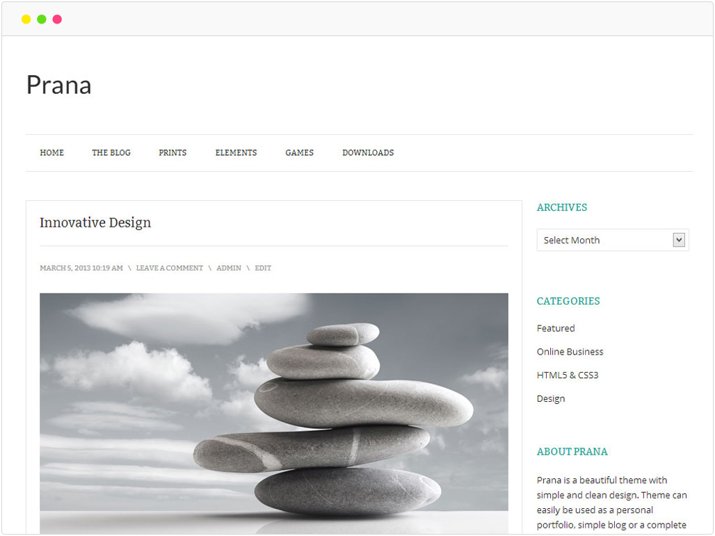 prana-free-wordpress-theme-showcase