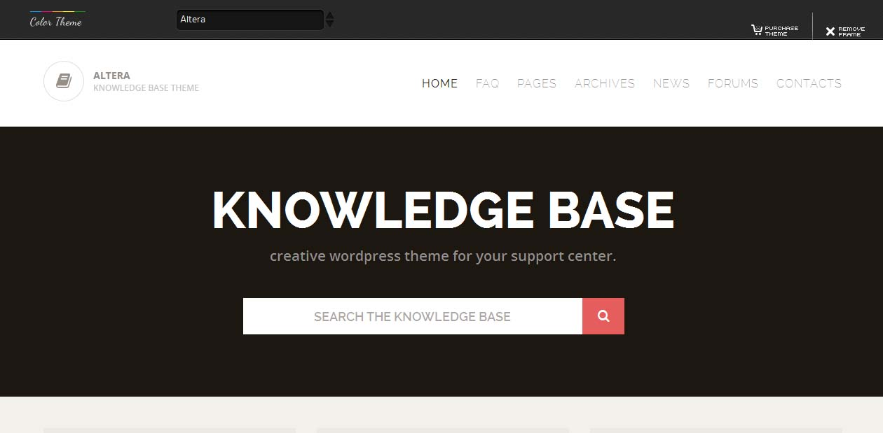 Altera - Miscellaneous WordPress Themes