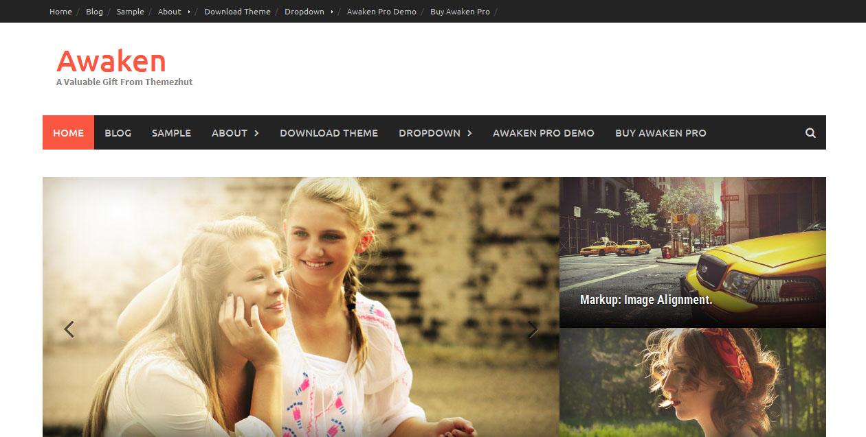 Awaken - Free WordPress Responsive Themes