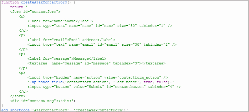 Build Your Own Ajax Contact Form for WordPress