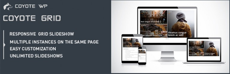 Coyote Grid Lite - wordpress responsive plugins