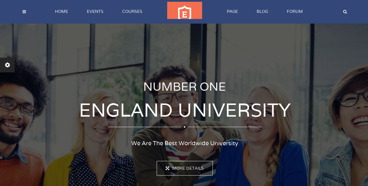 Education - Right Sidebar WordPress Themes