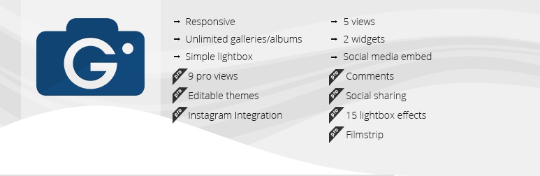 Gallery - wordpress plugins for photographers