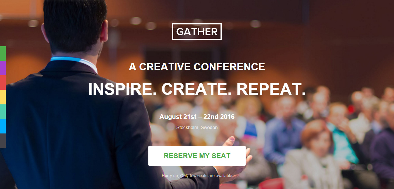 Gather - Event and Conference WordPress Theme