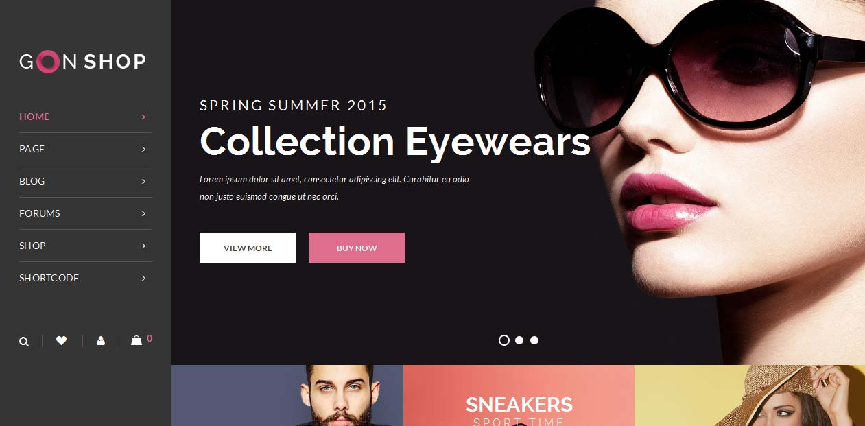 Gon - WordPress eCommerce Themes