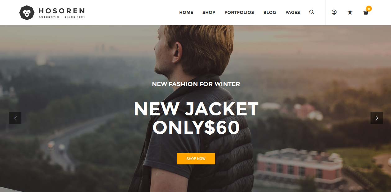 Hosoren - WordPress eCommerce Themes