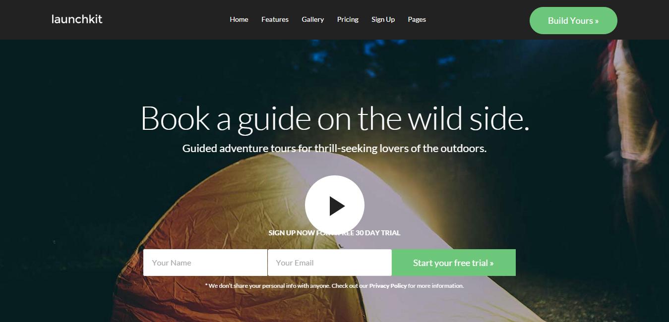 Launchkit - Marketing WordPress Theme