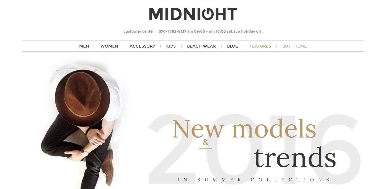 MidNight - WordPress eCommerce Themes