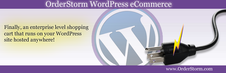 OrderStorm WordPress e-Commerce - wordpress ecommerce widgets