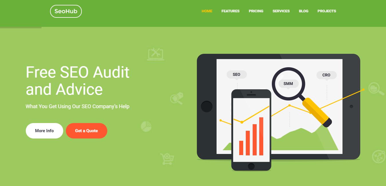 SeoHub - Marketing WordPress Paid Themes