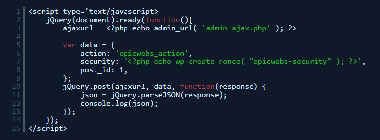 Simple jQuery Ajax Tutorial For WordPress