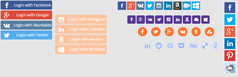 Social Login, Social Sharing by miniOrange