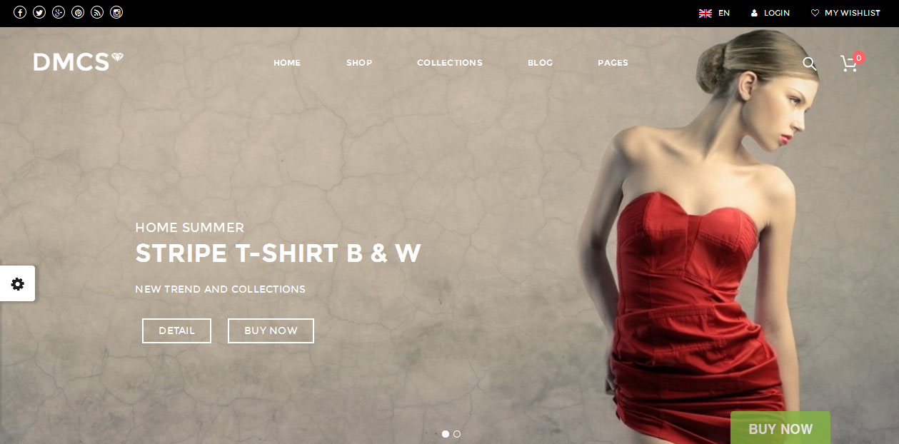 The DMCS - WordPress eCommerce Themes