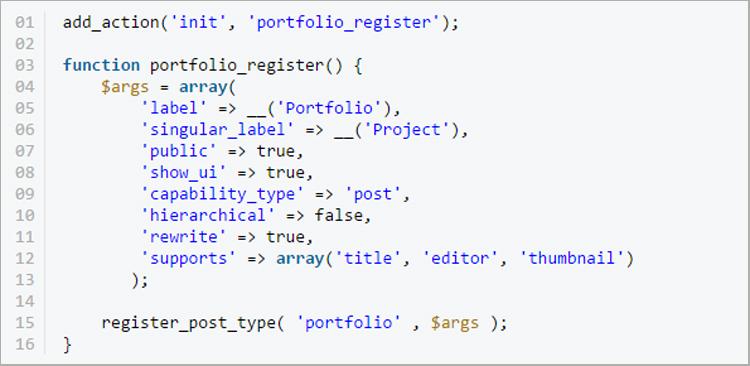 Using Custom Post Types to Create a Killer Portfolio