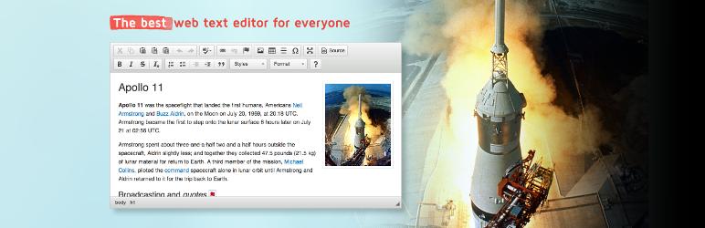 CKEditor for WordPress - wordpress editor plugins