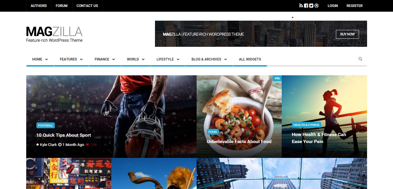 MagZilla - WordPress Newspapers and Magazines Theme