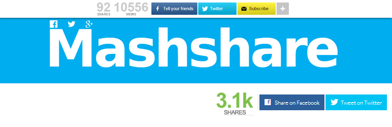 Mashshare - Social Media Plugins for WordPress