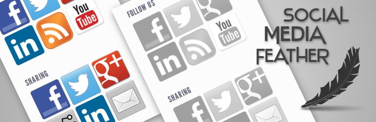 Social Media Feather