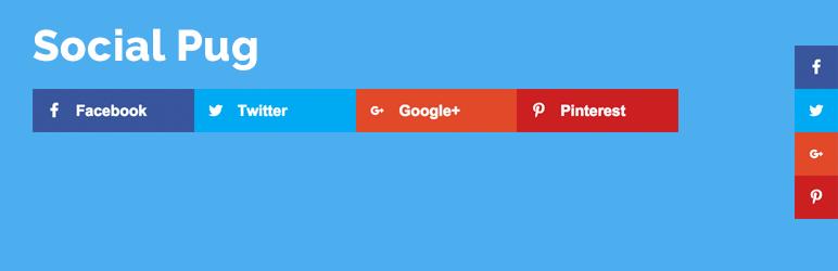 Social Pug - Easy Social Share Buttons