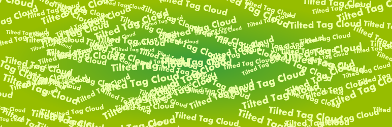 Tilted Tag Cloud Widget