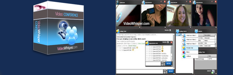 VideoWhisper Video Conference Integration