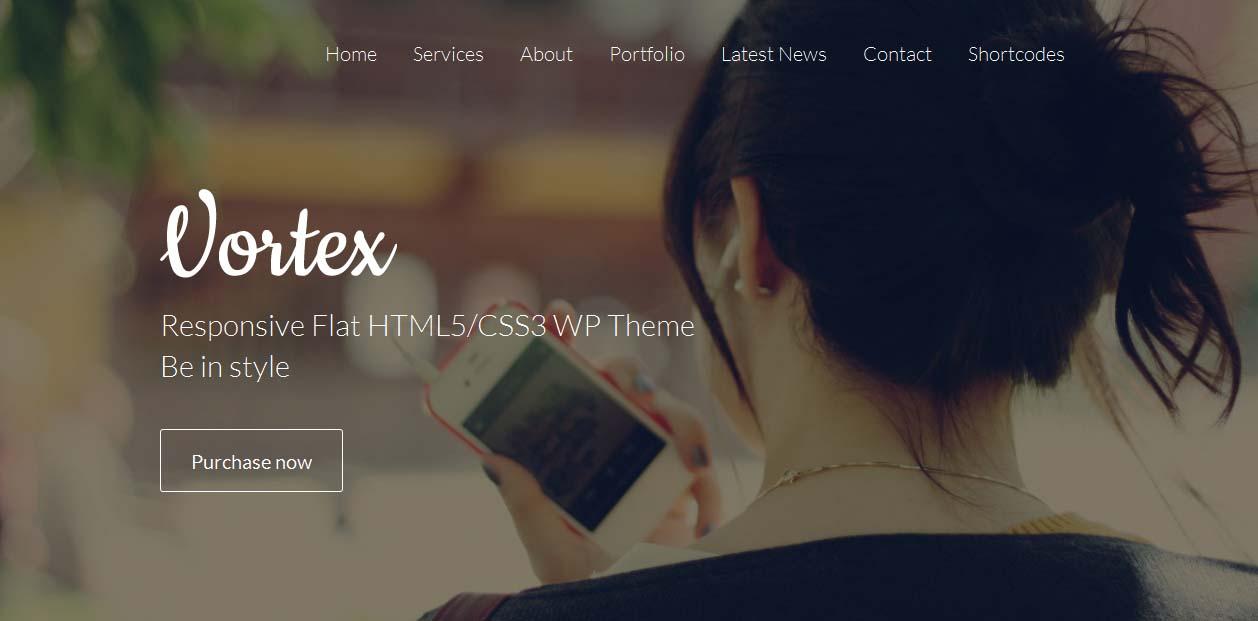 Vortex - WordPress Metro Style Themes