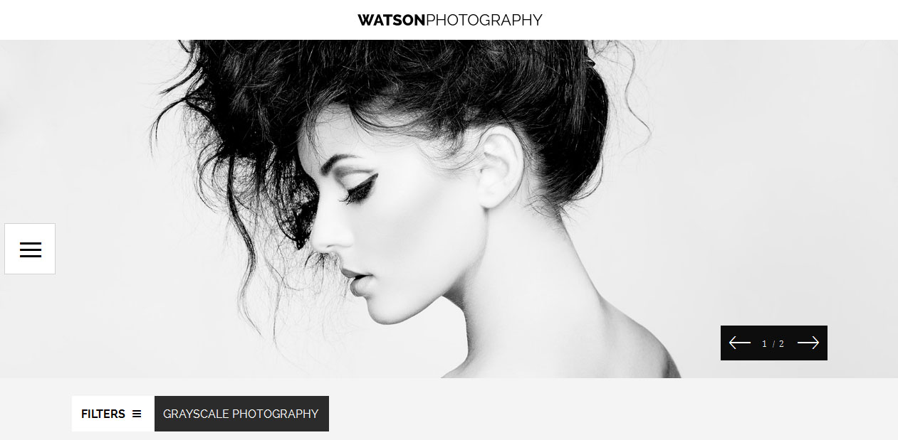 Powerful Photography WordPress Theme
