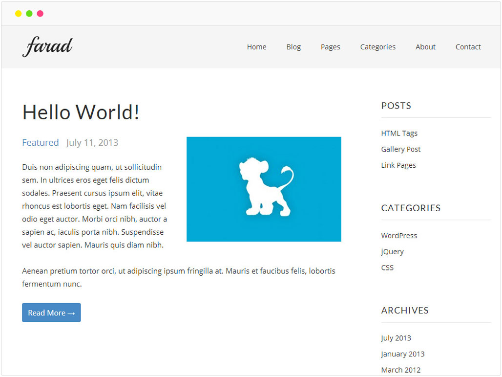 farad-free-wordpress-theme-showcase