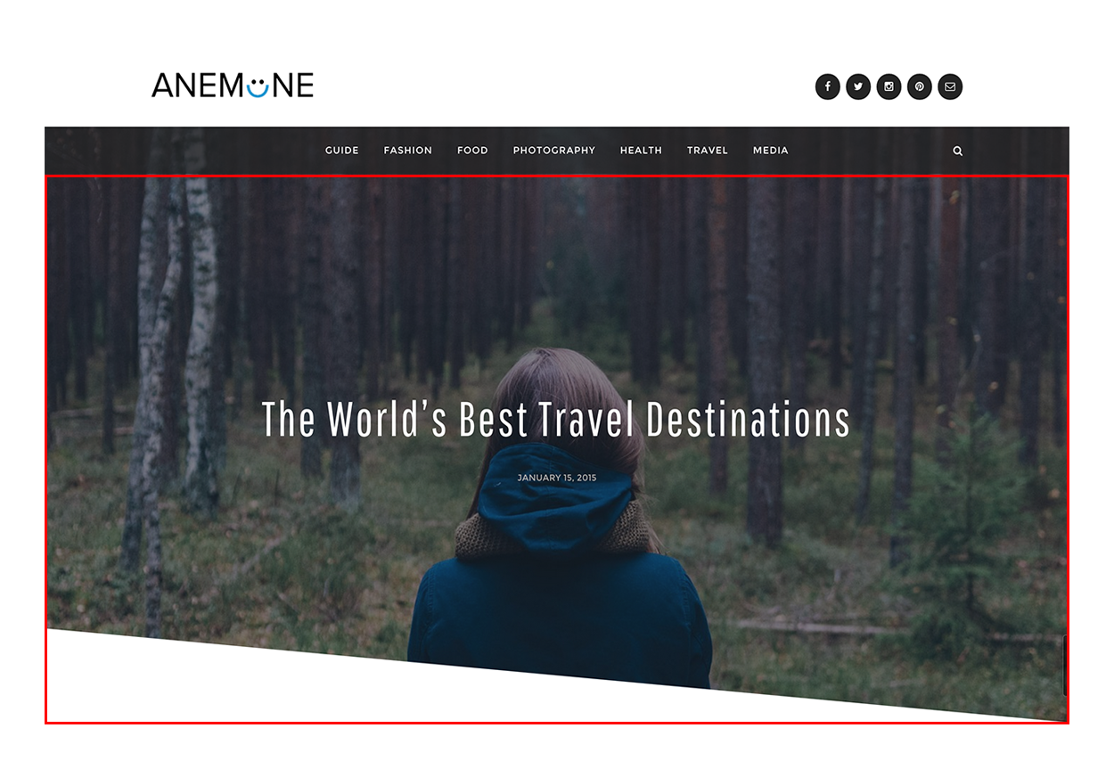 How to create a featured content gallery in wordpress - Featured Content Anemone Wordpress Theme