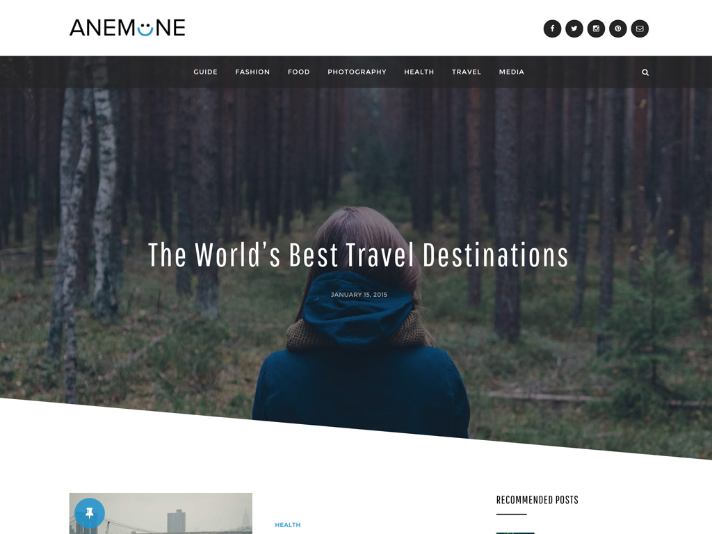Magazine WordPress Themes - DesignOrbital