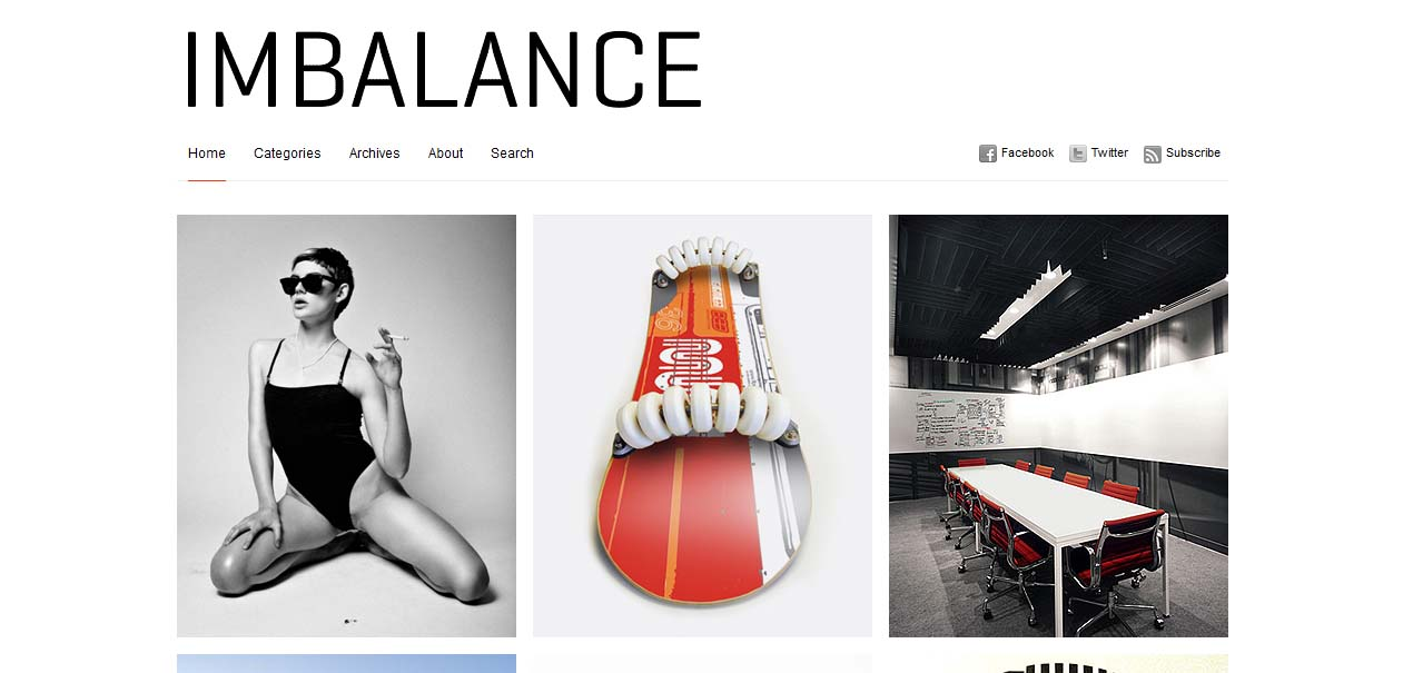 Imbalance - Free WordPress Themes For Magazines
