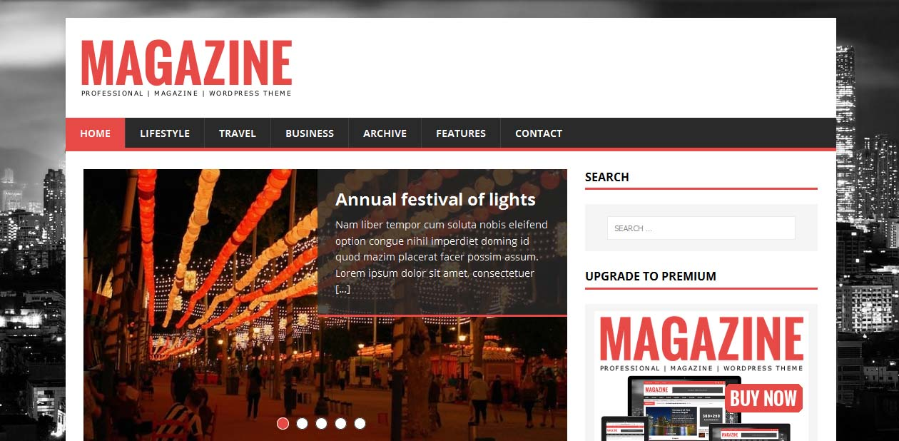 MH Magazine lite - Free WordPress Themes For Magazines