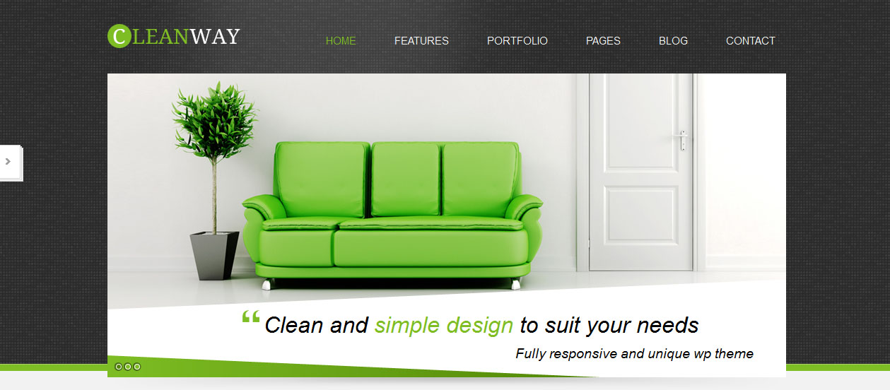 Cleanway - HTML5 Based WordPress Themes
