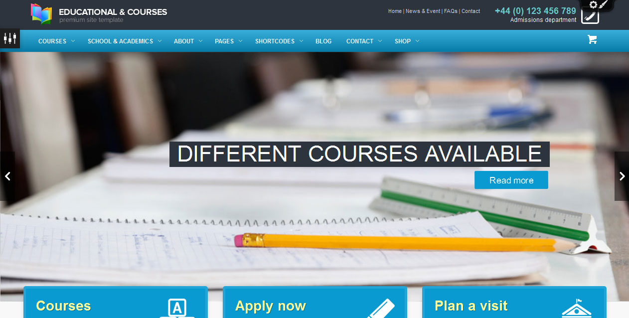35 Best Education WordPress Premium Themes For Educational Websites ...