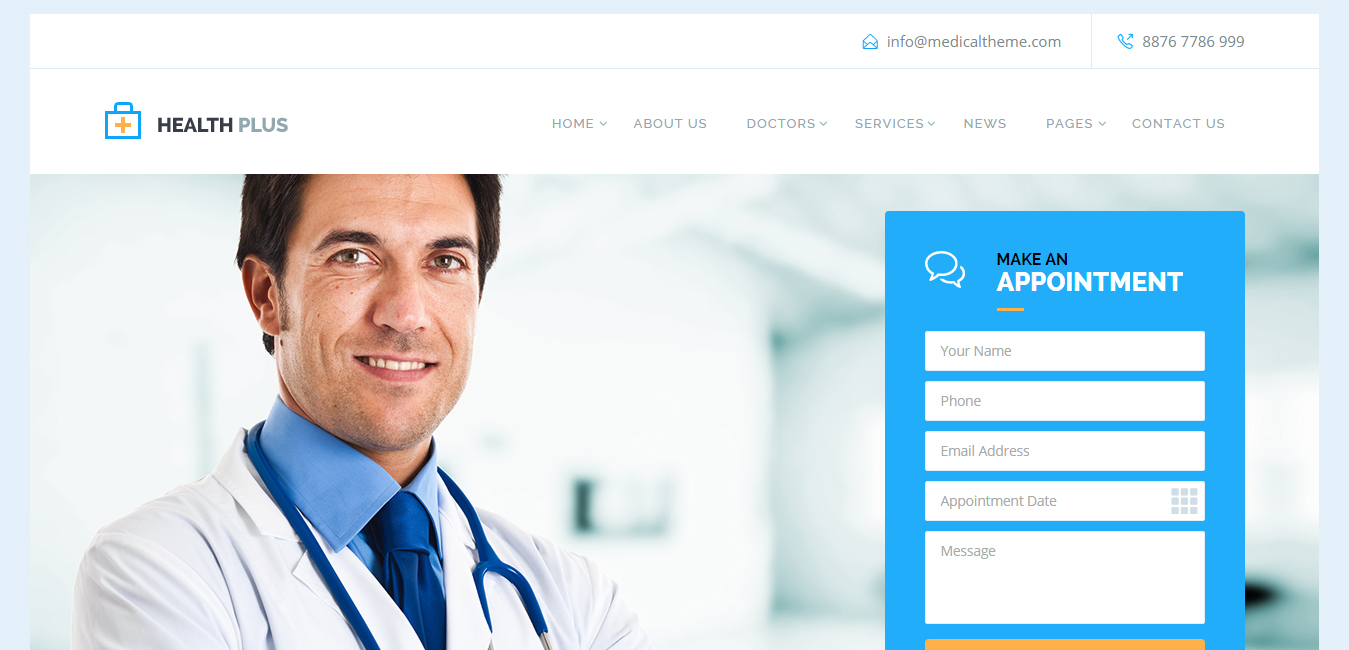 Health Plus - Health & Medical Theme