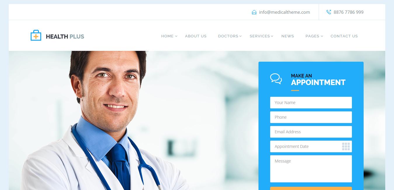 20 Best Medical Pharmacy WordPress Themes - DesignOrbital