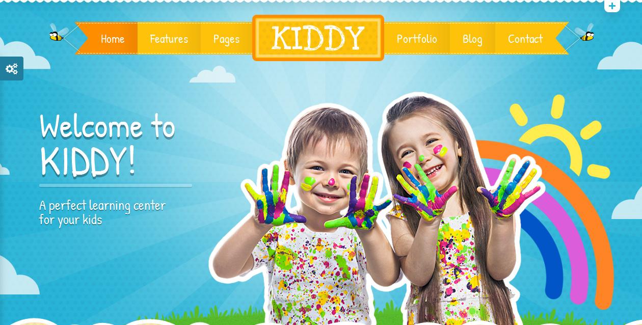 Kiddy - Responsive Education WordPress Theme