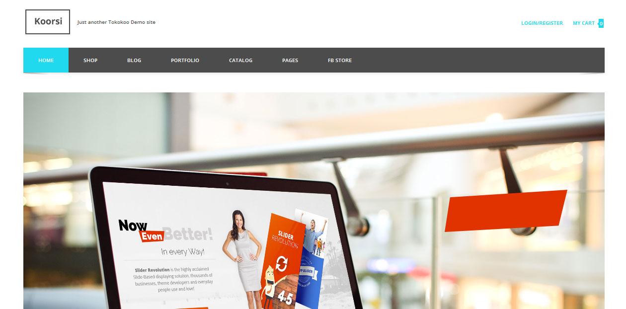 Koorsi - Best Furniture WordPress Themes