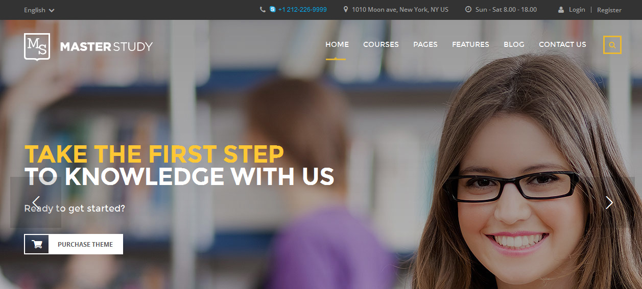 Masterstudy - Powerful WordPress Education Theme