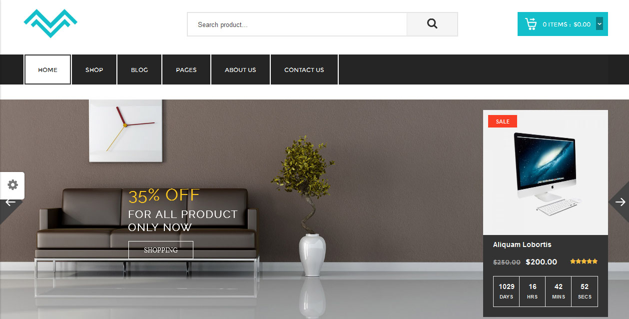 Mirano - Furniture WordPress Themes