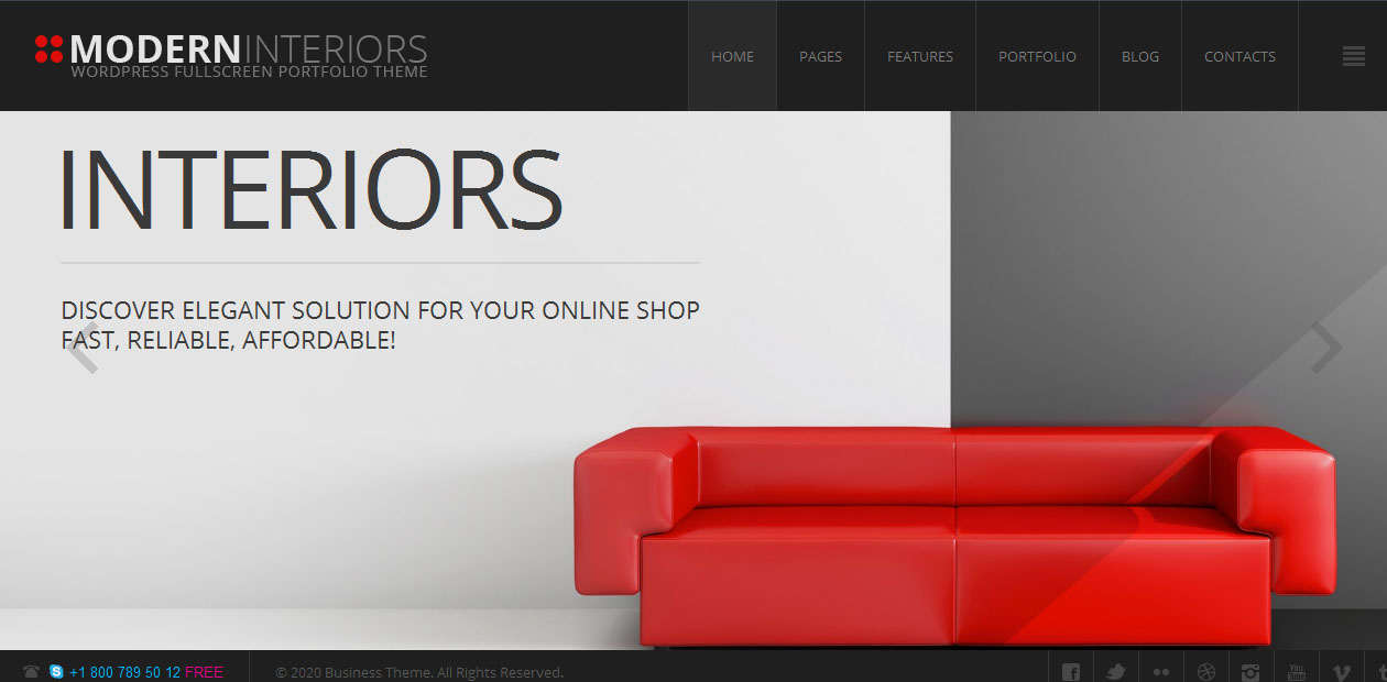35 Best Furniture WordPress Themes For Your Business - DesignOrbital
