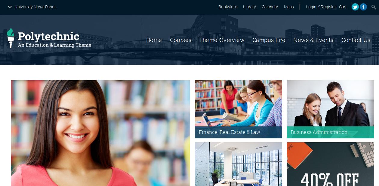 Polytechnic - Education WordPress Premium Themes